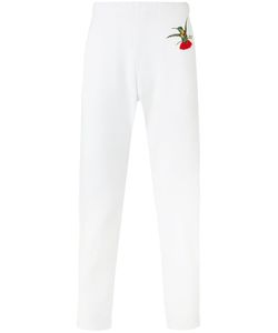 Alexander McQueen | Hummingbird Embroidered Track Pants