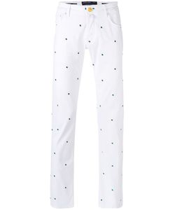 Jacob Cohёn | Jacob Cohen Embroidered Regular Trousers