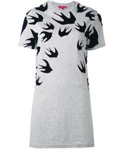 Mcq Alexander Mcqueen | Swallow T-Shirt Dress Small Cotton