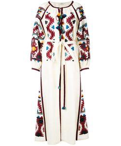 Vita Kin | Платье-Рубашка С Вышивкой