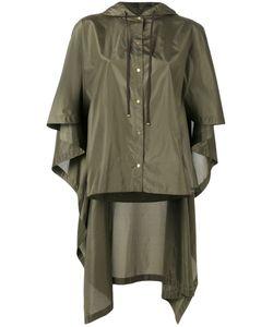 Kenzo | High-Low Cape Jacket 38