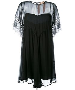 No21 | Sheer Panel Dress 42