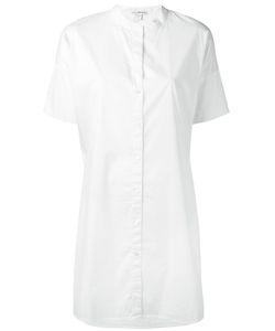 James Perse   Shortsleeved Shirt Dress Medium Cotton/Nyamplung Oil