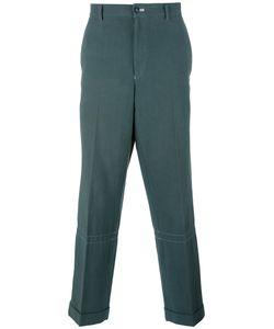 Comme Des Garcons | Comme Des Garçons Vintage Loose-Fit Tape Trousers Large