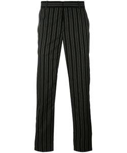 Alexander McQueen | Pinstriped Straight-Leg Trousers 52 Wool/Viscose/Acetate