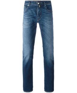 Jacob Cohёn | Jacob Cohen Straight Leg Jeans 32 Cotton/Spandex/Elastane