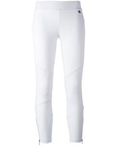 Versace Jeans | Leg Zips Leggings 42 Cotton/Spandex/Elastane/Modal/Polyester