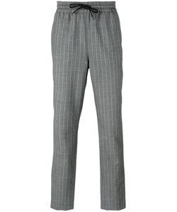 BERNARDO GIUSTI   Drawstring Striped Pants Size 48