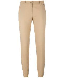 Twin-set | Cropped Trousers 46 Cotton/Spandex/Elastane