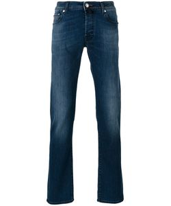 Jacob Cohёn   Jacob Cohen Stonewashed Slim Fit Jeans Size 34