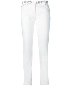 Kenzo | Logo Waistband Skinny Jeans 36 Cotton/Polyester/Spandex/Elastane