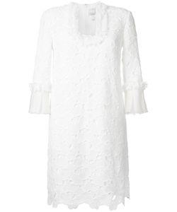 Huishan Zhang | Scalloped Macrame Lace Dress
