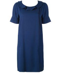 Twin-set | Платье-Шифт С Оборкой На Вырезе