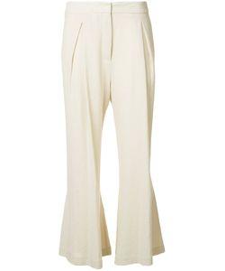 DUSAN | Fla Linen Trousers 42 Linen/Flax