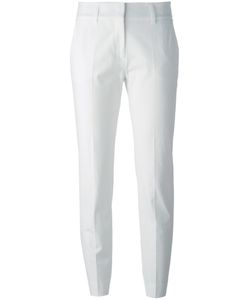 Piazza Sempione | Cropped Tailo Trousers 42 Cotton/Spandex/Elastane/Acetate/Polyester