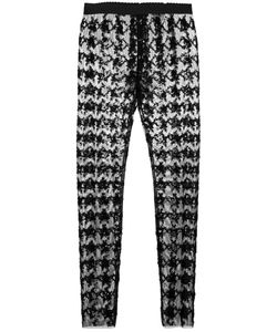 Dolce & Gabbana | Sequin Skinny Trousers 42 Polyamide/Spandex/Elastane/Polyester