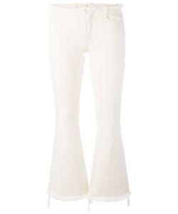 Marques Almeida | Marquesalmeida Fray Hem Fla Trousers 8 Cotton
