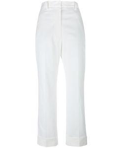Jil Sander | Cropped Tailo Trousers 42 Cotton/Spandex/Elastane