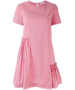 P.A.R.O.S.H. | P.A.R.O.S.H. Short Sleeve Striped Dress