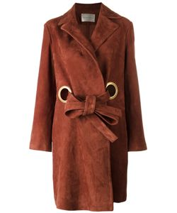 Stine Goya | Alva Coat Medium Goat Suede