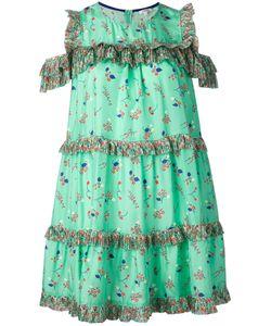 Manoush | Платье С Цветочным Принтом И Рюшами