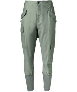 Bassike | Ribbed Cuffed Trousers Size 6