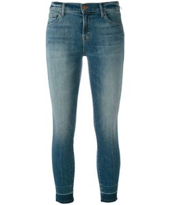J Brand   Cropped Skinny Jeans Size 28