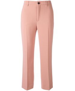 Miu Miu | Flared Cropped Trousers Size
