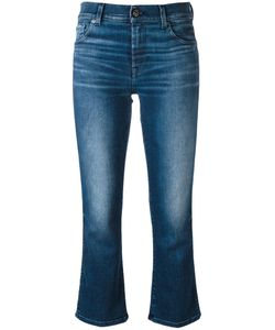 7 for all mankind | Cropped Jeans 26 Cotton/Polyester/Spandex/Elastane