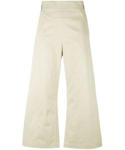 Ter Et Bantine | Cropped Wide-Leg Trousers 46 Cotton