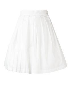 Ermanno Scervino | Full Midi Skirt 40 Cotton/Ramie/Polyamide