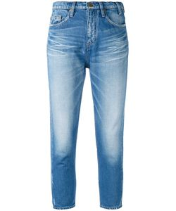 Jil Sander | Faded Cropped Skinny Jeans Size Small