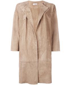 DESA COLLECTION | Oversized Coat 36 Cotton/Suede