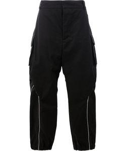 MOOHONG | Zip Detail Wide Leg Trousers Size 50