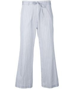 Aspesi | Stripe Fla Trousers 40 Cotton