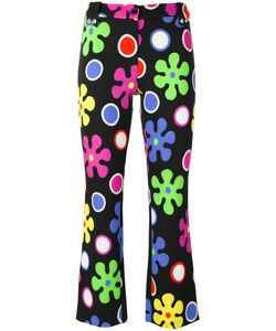 Moschino | Flower Power Cropped Trousers 42 Rayon/Other Fibers