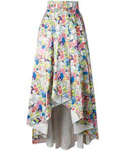 Ultràchic | Garbage Print Full Skirt 40 Cotton/Spandex/Elastane