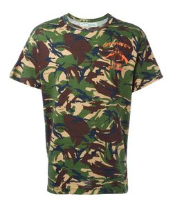 OFF-WHITE | Camouflage Print T-Shirt Xs Cotton