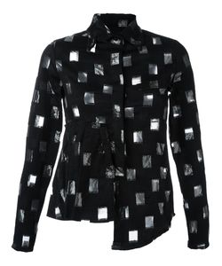 AREA DI BARBARA BOLOGNA | Рубашка С Прозрачным Узором
