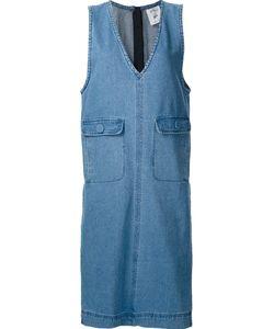 Steve J & Yoni P | Sleeveless Denim Dress