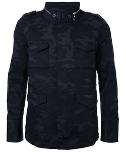 LOVELESS | Camouflage Print Jacket