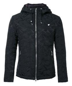 LOVELESS | Camouflage Print Hooded Jacket