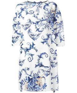 Antonio Marras | Jewel Neck Dress 42 Viscose/Polyester/Spandex/Elastane/Cupro