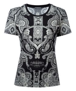 Alexander McQueen | Skull Paisley Print T-Shirt Size 38