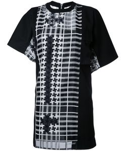 Sacai | Асимметричное Платье Шифт