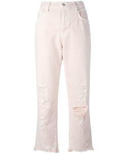 J Brand   Ivy Cropped Jeans Size 23