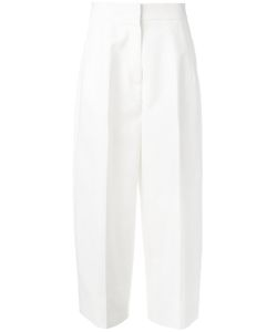 Jil Sander | Wide-Legged Cropped Trousers