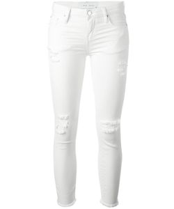 Iro | Ripped Skinny Jeans 27 Cotton/Spandex/Elastane