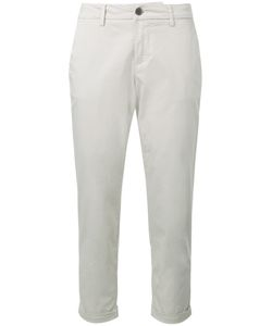 Fay | Cropped Trousers 30 Cotton/Spandex/Elastane