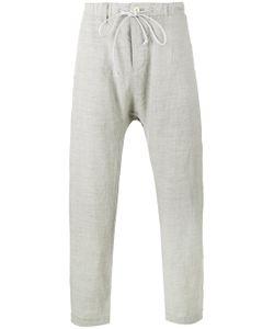 KAZUYUKI KUMAGAI | Creased Drop Crotch Trousers